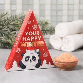 Соль в треугольной коробке Your happy winter: 150 г