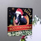 Магнит «Богатого года!»