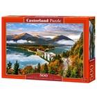 Пазл 500 элементов «Восход солнца над озером, Германия»