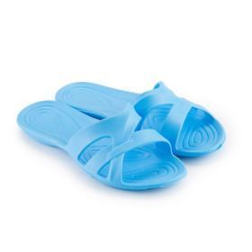 Сланцы пляжные женские, цвет голубой, размер 40 Ош