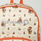 Рюкзак детский, отдел на молнии, наружный карман, цвет оранжевый - Фото 3