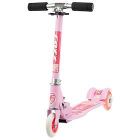 Самокат Foxx Smooth Motion, сталь,колёса PVC 100 мм, ABEC-7, цвет розовый Ош
