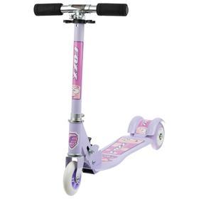 Самокат Foxx Smooth Motion, сталь,колёса PVC 100 мм, ABEC-7, цвет фиолетовый Ош