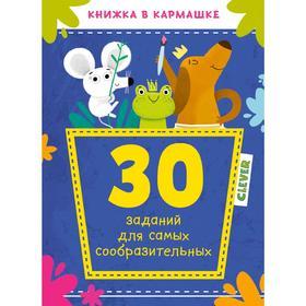 КСП19. Книжка в кармашке. 30 заданий для самых сообразительных