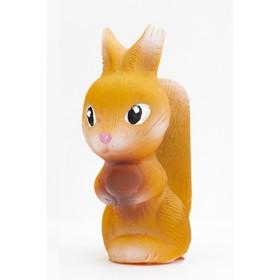 Резиновая игрушка «Белка Соня»,10 см