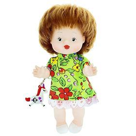 Кукла «Леночка», с игрушкой, 20 см