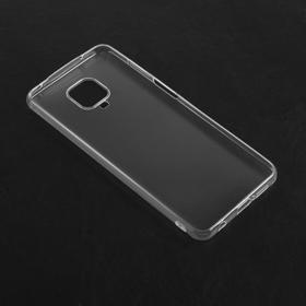 Чехол Qumann, для Xiaomi Redmi Note 9 Pro, силиконовый, прозрачный