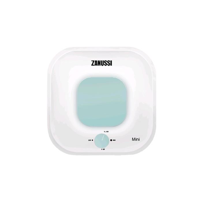 Водонагреватель Zanussi ZWH/S 10 Mini U, накопительный, 2 кВт, 10 л, бело-зелёный 51296
