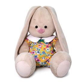 Мягкая игрушка «Зайка Ми», в комбинезоне с воротничком, 18 см