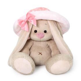 Мягкая игрушка «Зайка Ми», в розовой панаме, 15 см