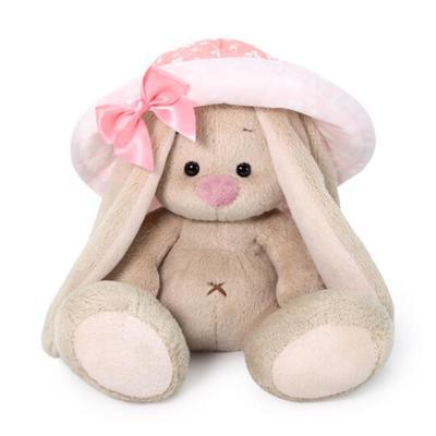Мягкая игрушка «Зайка Ми», в розовой панаме, 15 см - Фото 1