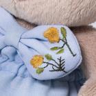 Мягкая игрушка «Зайка Ми», в голубых трусах с бантом, 15 см - Фото 4