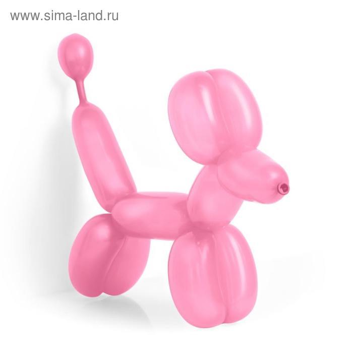 Шар для моделирования, пастель, набор 50 шт., цвет розовый