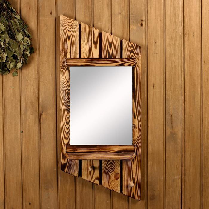 """Зеркало """"Диагональ"""" обожжёное"""