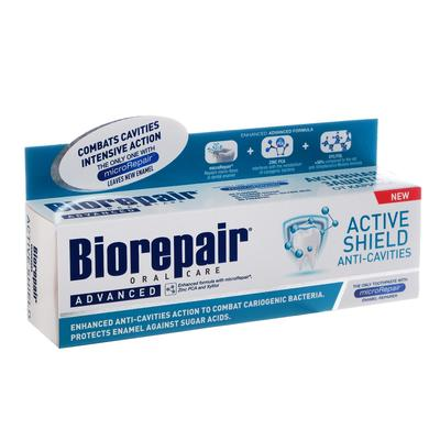 Зубная паста Biorepair Active Shield / Активная защита эмали зубов 75 мл - Фото 1