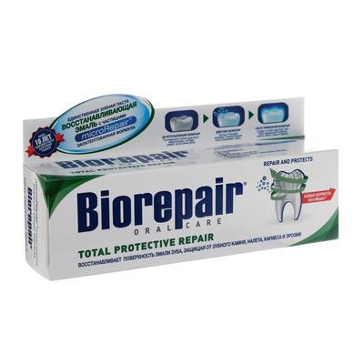 Зубная паста Biorepair Total Protective Repair комплексная защита 75 мл - Фото 1