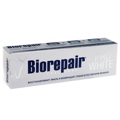Зубная паста Biorepair Pro White 75 мл - Фото 1
