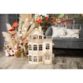 Кукольный домик с верандой