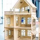 Кукольный домик с верандой - Фото 3