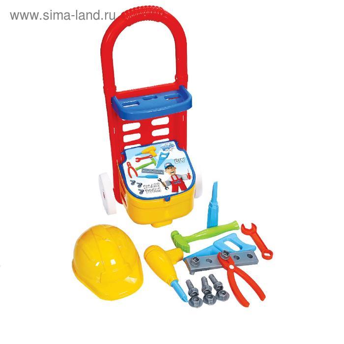 Набор инструментов в тележке, 14 предметов