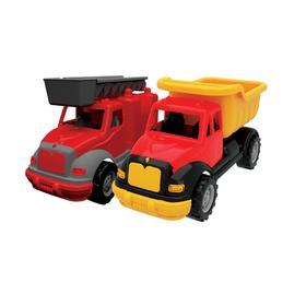 Набор грузовик и пожарная машина 30 см