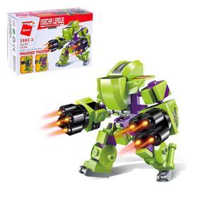 Конструктор «Боевой робот», 65 деталей