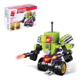 Конструктор «Боевой робот», 62 детали