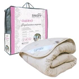 Одеяло классическое, размер 140 х 205 см, верблюжья шерсть