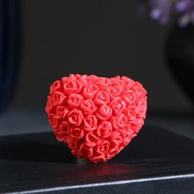 """Мыло фигурное """"Сердце в розах"""" 30гр"""