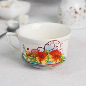 Чашка «Глория. Цветы вертикаль», 220 мл Ош
