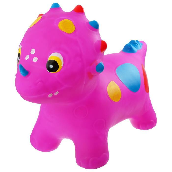 Попрыгун Динозаврик, 53 х 67 х 27 см, вес 1600 г, цвета МИКС