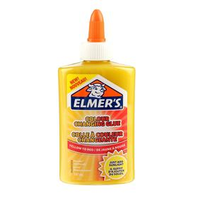 "Клей канцелярский 177г Elmers ""Color Changing Glue"", 147мл для слаймов, жел-крас 2109498"