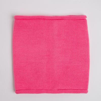 Снуд детский, цвет розовый, размер 22х24 см (10-14 лет)