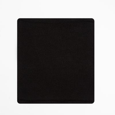 Снуд детский, цвет чёрный, размер 22х24 см (10-14 лет)