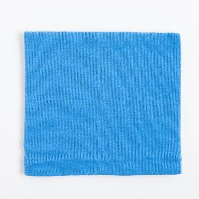 Шарф-снуд детский, цвет голубой, размер 45х21