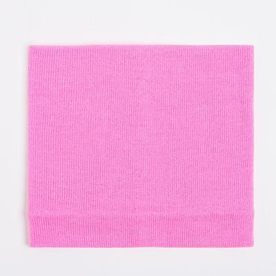 Шарф-снуд детский, цвет фуксия, размер 45х21