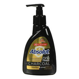 Жидкое мыло Absolut Pro Carbon, cеребро + уголь, 250 мл