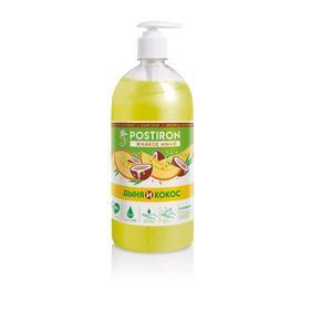 Жидкое крем-мыло Postiron «Дыня и кокос», 0,65 л