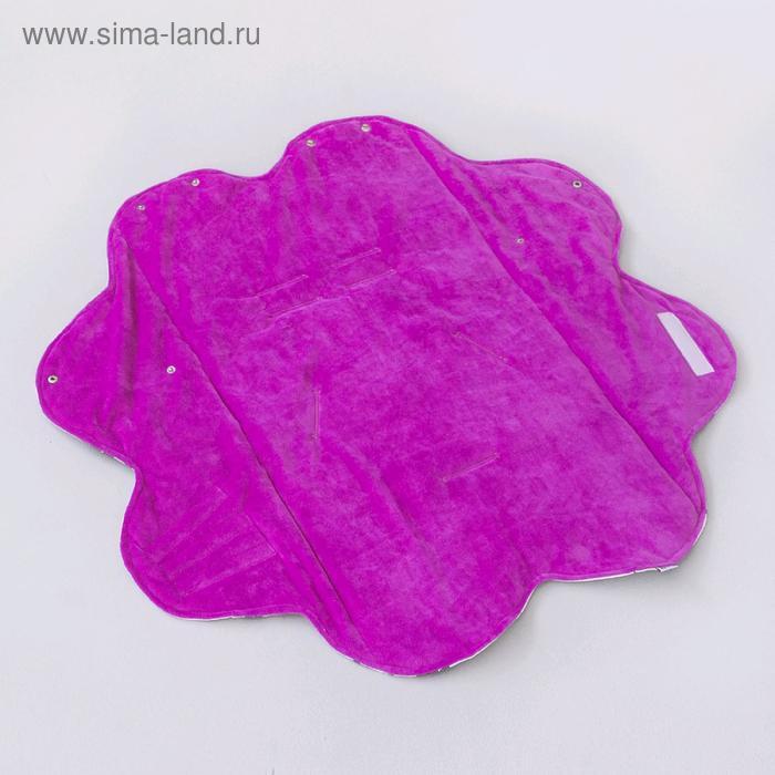 Конверт-одеяло «Единорог», размер 80 × 80 см, цвет лиловый