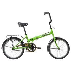 Велосипед 20' Novatrack TG30, 2020, 1ск., цвет салатовый Ош