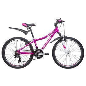 Велосипед 24' Novatrack Katrina, 2020, цвет фиолетовый, размер 12' Ош