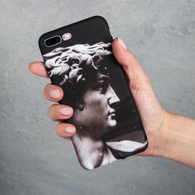 Чехол для телефона iPhone 7/8 plus «Давид», 7,7 х 15,8 см