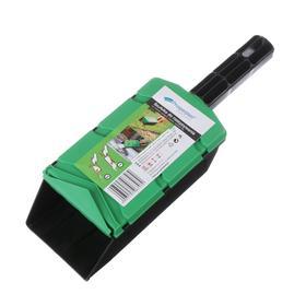 Дозатор для разбрасывания семян, удобрений, земли, песка Ош