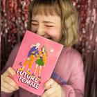 Ежедневник в тонкой обложке Future female, А5, 80 листов