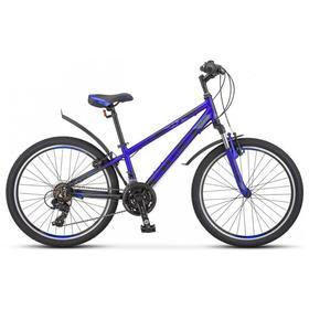 Велосипед 24' Stels Navigator-440 V, K010, цвет серебристый/синий, размер 12' Ош