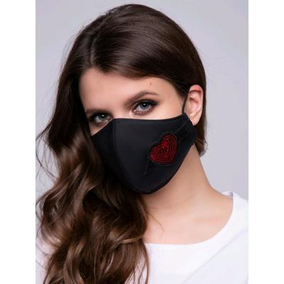 Защитная маска «Сердце», размер 42 - Фото 1