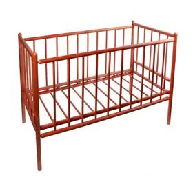 Детская кроватка «Женечка-7», цвет вишня Ош