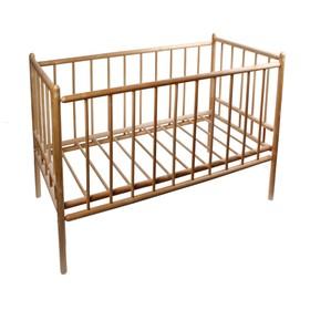 Детская кроватка «Женечка-7», цвет натуральный Ош