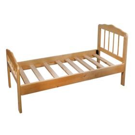 Детская кроватка «Непоседа-2», 140 см × 63 см × 21 см., массив берёзы, цвет светлый Ош