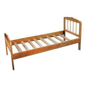 Детская кроватка «Непоседа-3», 165 см × 65 см × 80 см., массив берёзы, цвет светлый Ош
